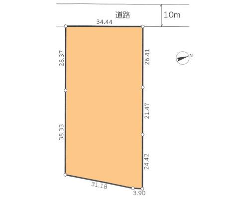 柏市 JR常磐線柏駅の貸地画像(1)