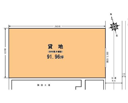 大和市 相鉄線相模大塚駅の貸地画像(1)