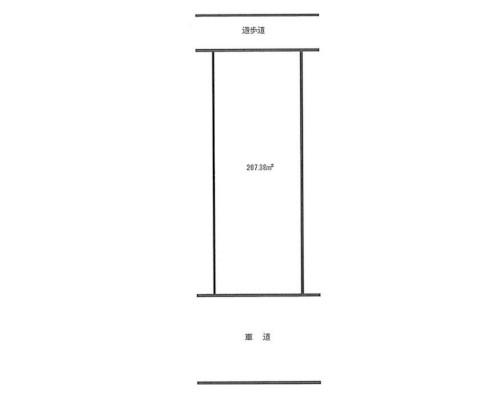 横浜市都筑区 横浜市高速鉄道4号線都筑ふれあいの丘駅の貸地画像(1)
