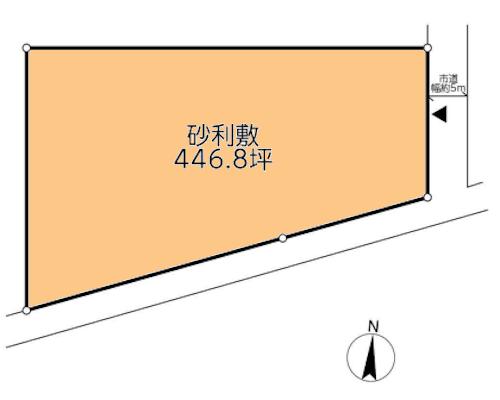 海老名市 JR相模線門沢橋駅の貸地画像(1)
