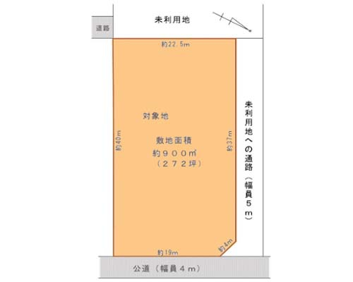 相模原市南区 小田急小田原線相模大野駅の貸地画像(1)