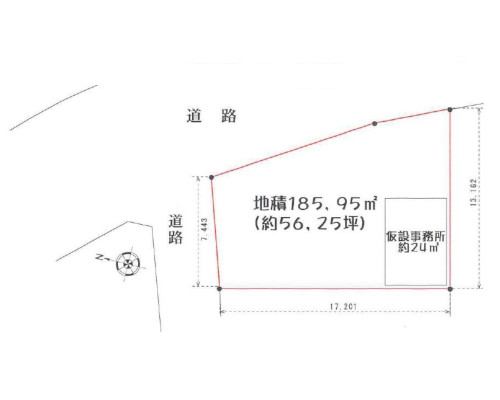 横浜市神奈川区 JR横浜線小机駅の貸地画像(1)