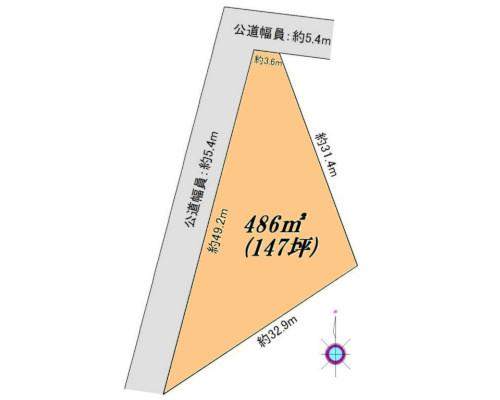 横浜市港北区 ブルーライン仲町台駅の貸地画像(1)