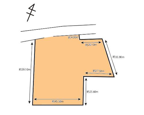 大和市 東急田園都市線つきみ野駅の貸地画像(1)