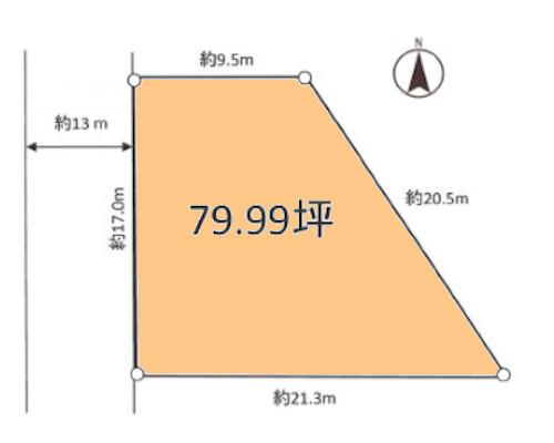 大和市 小田急江ノ島線大和駅の貸地画像(1)