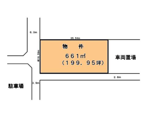 相模原市中央区 JR横浜線淵野辺駅の貸地画像(1)