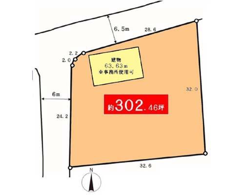 入間市 JR八高線箱根ヶ崎駅の貸地画像(1)