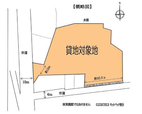 川越市 西武新宿線南大塚駅の貸地画像(1)