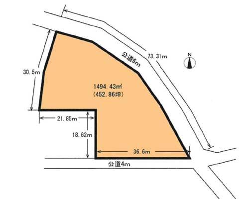 西多摩郡瑞穂町 JR八高線箱根ヶ崎駅の貸地画像(1)