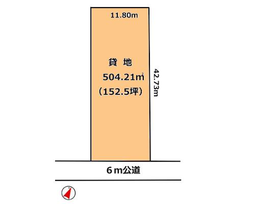 八王子市 JR中央線豊田駅の貸地画像(1)
