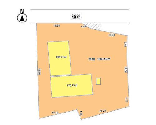 八王子市 京王高京王高尾駅の貸地画像(1)