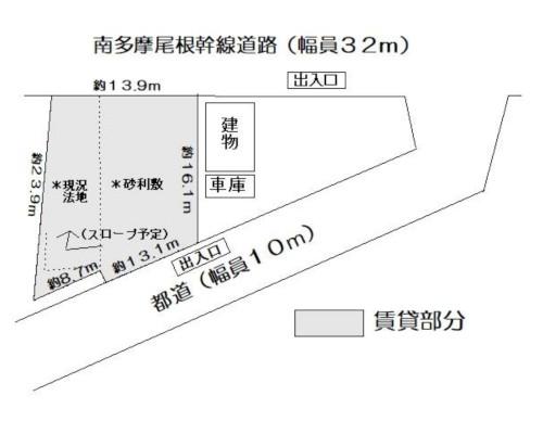 町田市 京王相模原線多摩境駅の貸地画像(1)