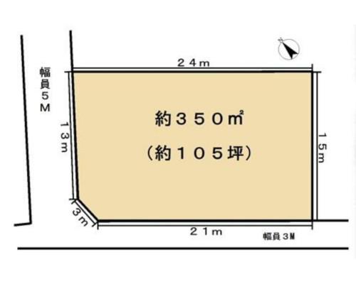 八王子市 JR中央線西八王子駅の貸地画像(1)